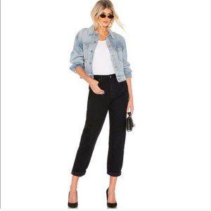 GRLFRND Denim The Devon Black Jean
